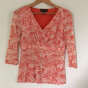 I.N.C international concepts petite blouse Sz M
